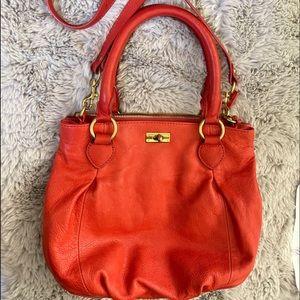 J Crew leather bag slouchy satchel